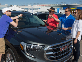 A GM Fleet expert explains the functions of the windshield front camera for the all-new GMC...