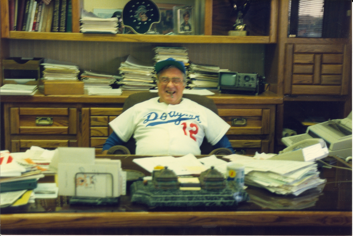Though his L.A. Dodgers occasionally let him down, he had season tickets for years and would...