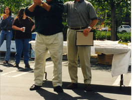 "One of our company's favorite traditions were quarterly ""parking lot picnics,"" which we enjoyed..."