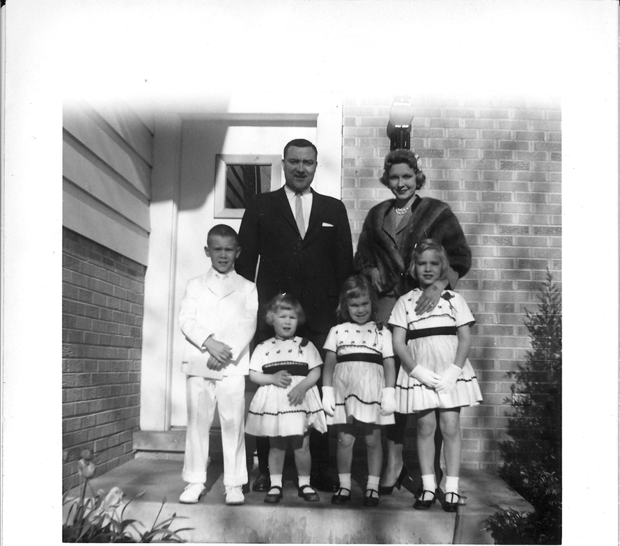 An early family photo. Talk about outsize pleasures: There were still two more children yet to...