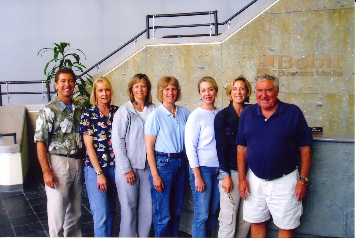 Bobit is first and foremost a family business. From left, Ty Bobit (CEO/President), and the...