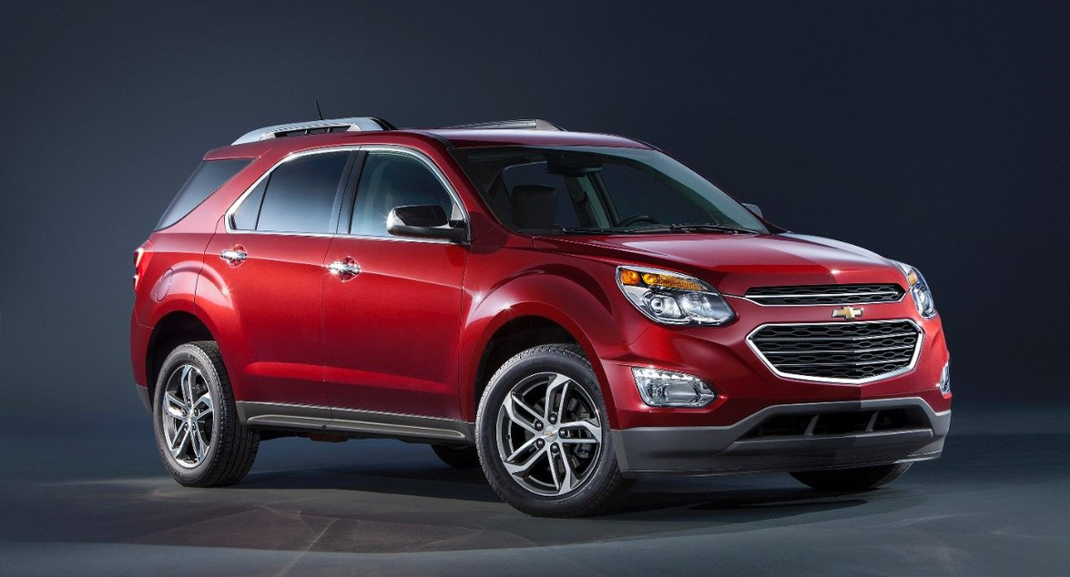 The Equinox features a 182-horsepower, 2.4-liter four-cylinder engine that's standard while a...