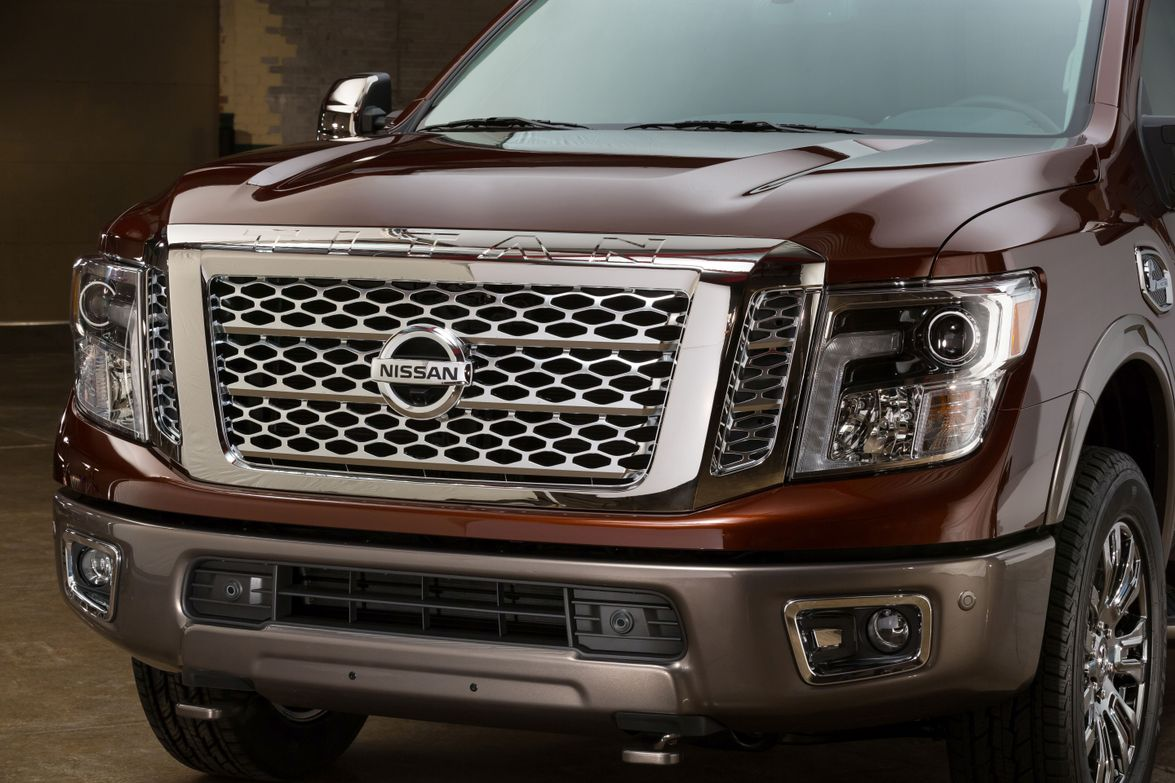 The exterior of the truck features LED headlights and tailights, daytime running lights, puddle...