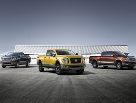 The new full-size pickup will go on sale in the United States and Canada in late 2015. The Titan...