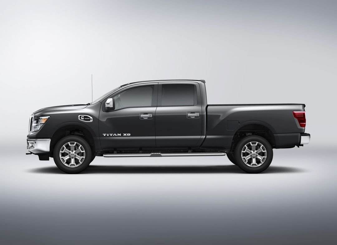 The 2016 Titan XD includes a Bosch high pressure common rail fuel system and piezo fuel injectors.