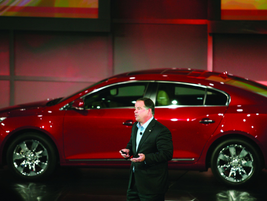 Tony DiSalle, U.S. VP of Buick marketing,discussed the brands progress and lineup.
