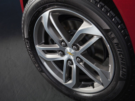 The 17-inch aluminum wheels come on the LT model and the new 18-inch aluminum wheels are on the...