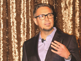 One of the keynote speakers was Sergio Rojas of Hirschbach Motor Lines, who spoke on driver...