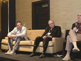 """A panel discussion entitled """"Tomorrow's Technology for a Safer Fleet Today,"""" featured three..."""