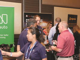 Twenty three companies exhibited at the 2018 Fleet Safety Conference that included telematics...