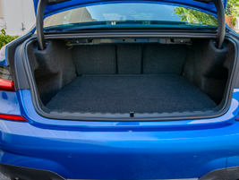 The vehicle provides 17 cu.-ft. of cargo carrying space.