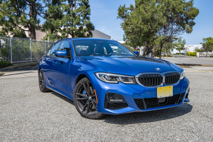 BMW is offering its 330i as the base model of its seventh-generation 3 Series sedan.