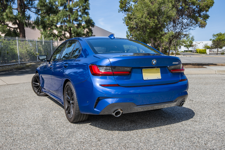 The 330i starts at around $41,245, and our test model would retail for $59,720.