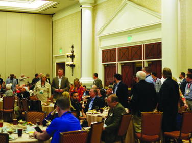 At one point of the event attendees who had completed the IARA's Certified Automotive Remarketer...