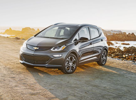 We lead off with the 2019 Chevrolet Bolt EV, which has drawn the highest level of fleet interest and use. It provides a range of 238 miles and retails for $36,620.