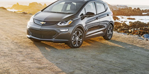 Not only will the Chevrolet Bolt EV (shown) have access to the charging network, but the new...