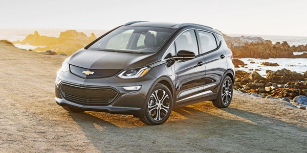 General Motors vehicles such as the Chevrolet Bolt EV (shown) willbe eligible for a lower...