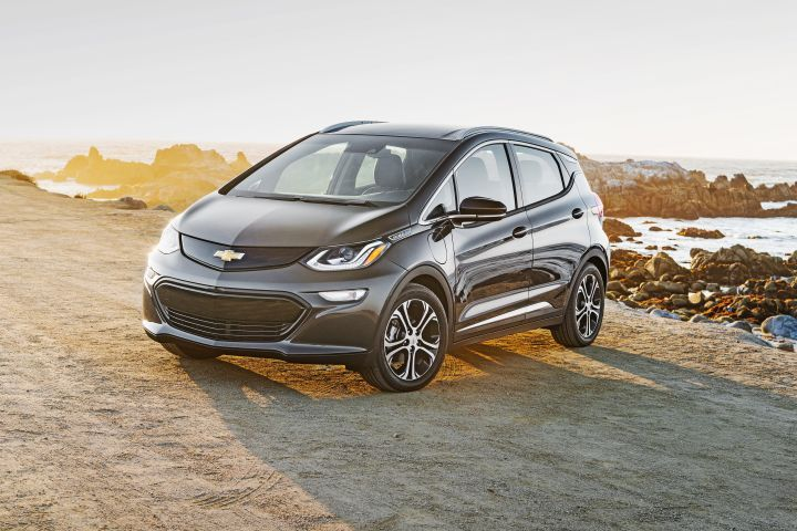 General Motors vehicles such as the Chevrolet Bolt EV (shown) will be eligible for a lower federal tax credit in 2019.