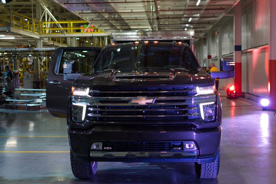 2020 Chevrolet Silverado Hd Reveal Vehicle Research