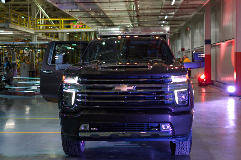 2020 Chevrolet Silverado HD Reveal