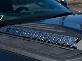 The 3.0L Duramax diesel engine is mated to a 10-speed Allison transmission that provides a...