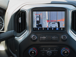 The trailering features along with a new 15 camera towing system on the 2020 Silverado HD will...