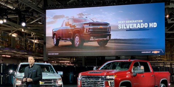 Major truck announcements came from Ford, GM (pictured), Ram, and Toyota last week.