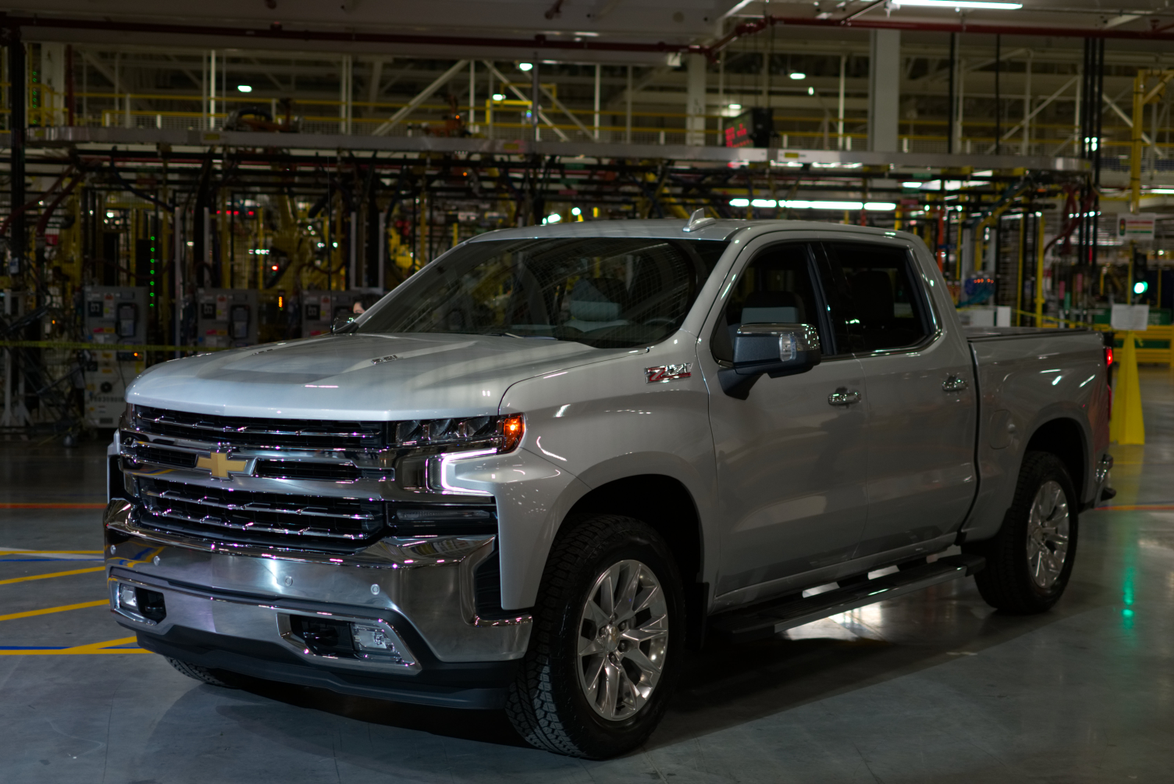 The five trim levels available include the Work Truck, Custom, LT, LTZ, and High Country.