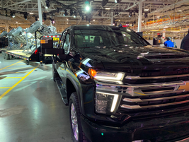 The 2020 Silverado 3500HD can tow 35,500 lbs, a more than 50% improvement over the previous...