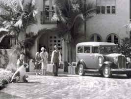 The first generation 1935 Suburban was powered by a 60-hp inline-six.
