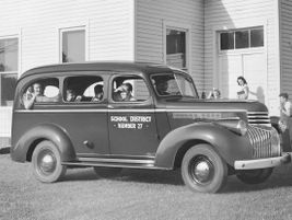 The second generation 1946 Suburban had limited production during World War II and was used by...