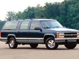 The eighth generation 1992 Suburban arrived with sleekstyling and four-wheel antilock brakes.