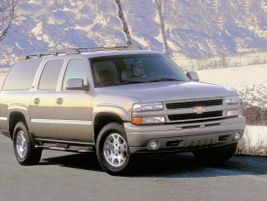 The ninth generation 2001 Suburban offered two V-8 engine choices and disc brakes.