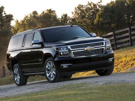 The eleventh generation 2015 Suburban saw a heavy redesign that made the large SUV more efficient.