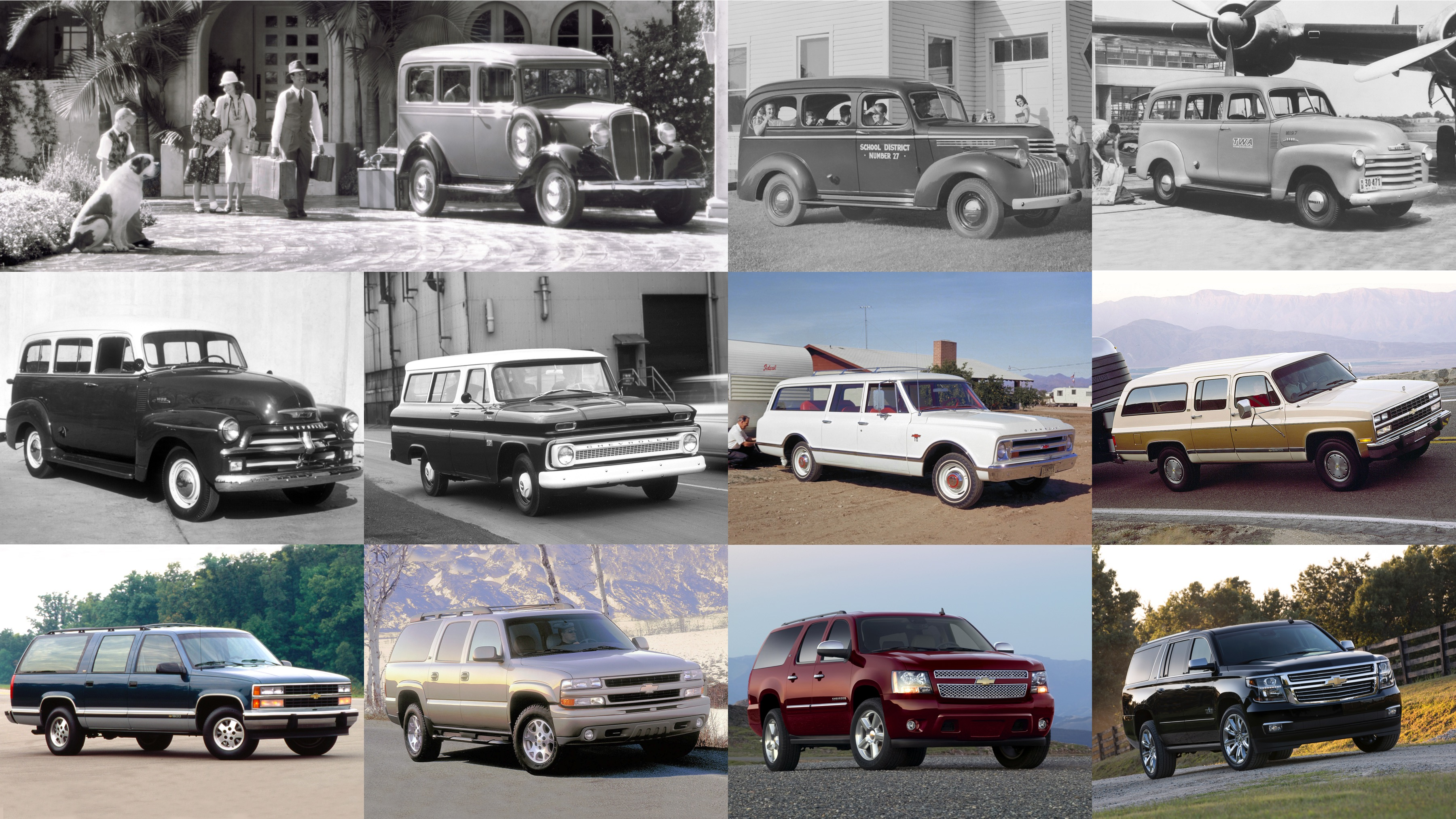 Chevrolet Suburban Through the Years