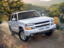 The second generation 2003 Tahoe saw a major refresh including StabiliTrak stability enhancement...