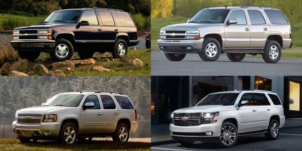 Chevrolet's Tahoe arrived for the 1995-MY as a multipurpose SUV built on a truck platform.