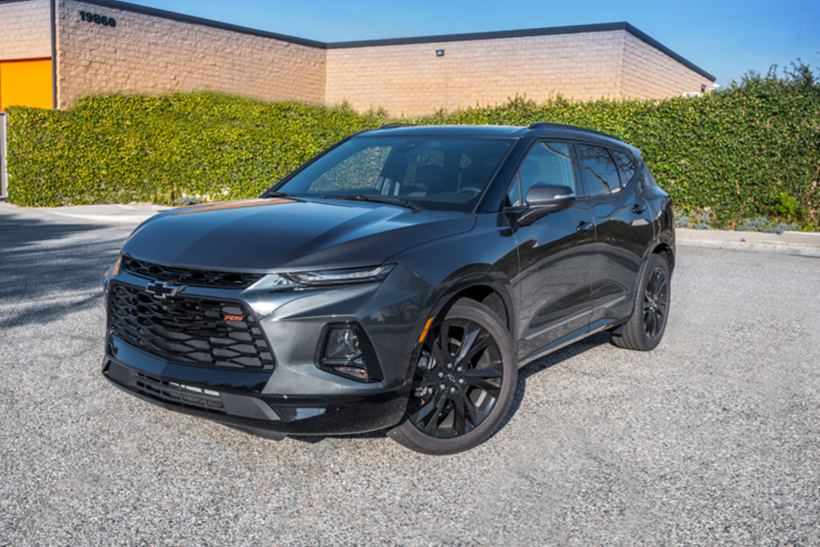 The Blazer's narrow headlights and longer hood suggest its designers were inspired by the...