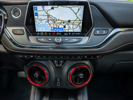 Chevrolet's third-generation infotainment system displays on a color, high-definition, 8-inch...