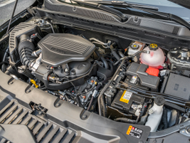 Here's a closer look at the 3.6L V-6. The base engine is a 2.5L I-4.