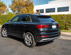 The Q3 entered its second generation in the 2018 model year.