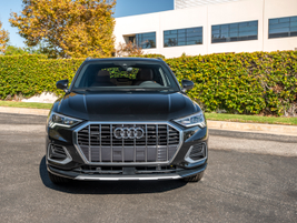 The 2019 Q3 is available in Premium, Premium Plus (shown), and Prestige trim levels.