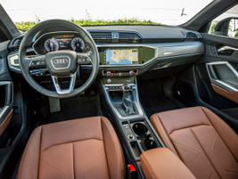 A 10.3-inch digital instrument cluster provides plenty of data about trip distance, recent...