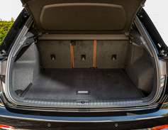 With second-row seats in place, cargo space measures 23.7cubic feet.