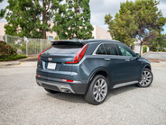 The Sport model offers adaptive suspension.