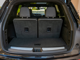 Cargo capacity comes in at 12.6 cu.-ft. with all seats up.