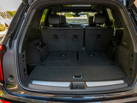 With the third row of seating folded, you can expand cargo capacity to 78.7 cu.-ft.