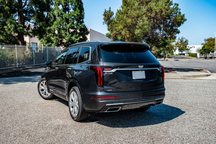 The XT6 brings a more refined ride than the more truck-line Escalade three-row SUV.