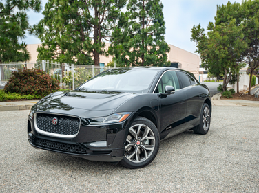The 2019 Jaguar I-Pace is Jaguar's first all-electric SUV.