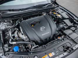 A 2.5-liter Skyactiv four-cylinder engine makes 186 hp and 186 lb.-ft. of torque.